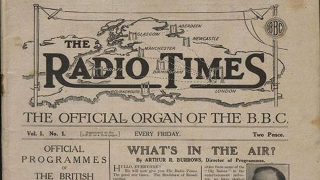 The BBC makes every Radio Times listing ever printed available online