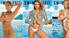 Kate Upton lands another Sports Illustrated cover in three racy versions