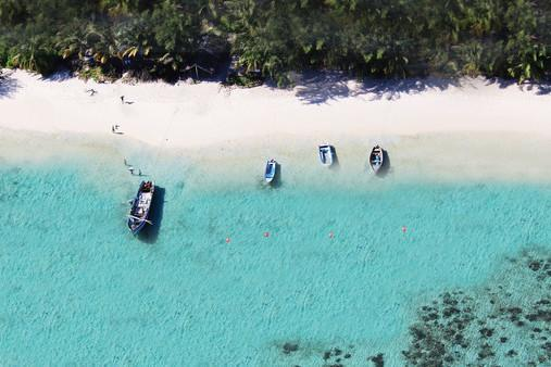 """<p>Opening in December 2016, Miavana promises to be a game-changer for Madagascar's tourism industry - a super-luxurious private island retreat that will rival those in the Seychelles and Maldives for the first time. The retreat, which will accommodate a maximum of 44 guests, occupies Nosy Ankao, the largest of five islands in an archipelago off Madagascar's north-east coast. Guests will arrive by helicopter and spend their time on 'blue safaris' - snorkelling, scuba diving and turtle, whale and dolphin-watching - as well as enjoying the spa. The resort's designers also created the celebrated North Island in the Seychelles and Miavana has a price tag to match. Holidays start from $2,500 per person per night, or $100,000 per night for exclusive use of the island with <a href=""""http://www.aardvarksafaris.co.uk/destinations/madagascar/"""" target=""""_blank"""">Aardvark Safaris</a>.</p>"""