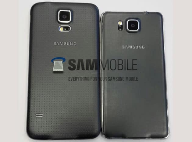 Samsung's leaked Galaxy Alpha looks like a smaller, prettier S5