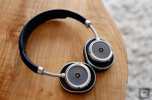 M&D's wireless MW50 headphones aren't perfect, but they sound great