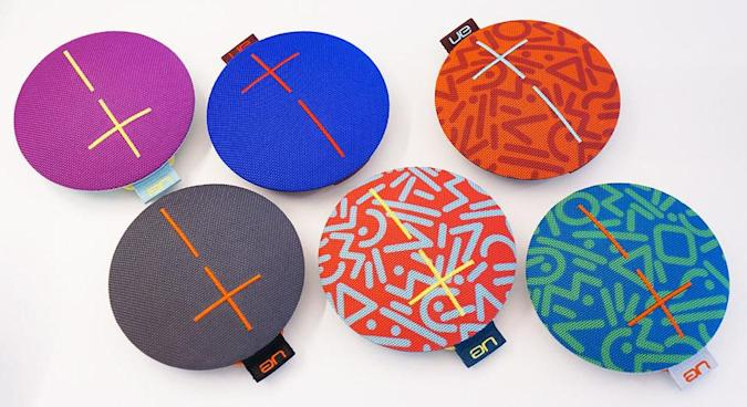 UE's Roll speaker is a resilient flying saucer of sound