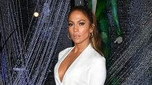 Jennifer Lopez Makes Black and White Red Hot on Promotional Spin
