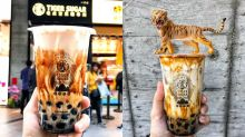 Taiwan's famous Tiger Sugar and its brown sugar boba milk drink are coming to Singapore in November