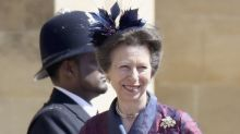 What Princess Anne Wore to the Royal Wedding