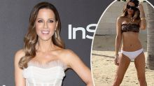 Kate Beckinsale, 46, hits back after swimsuit photo backlash