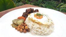 Have braised wagyu nasi lemak at Halia at Botanic Gardens