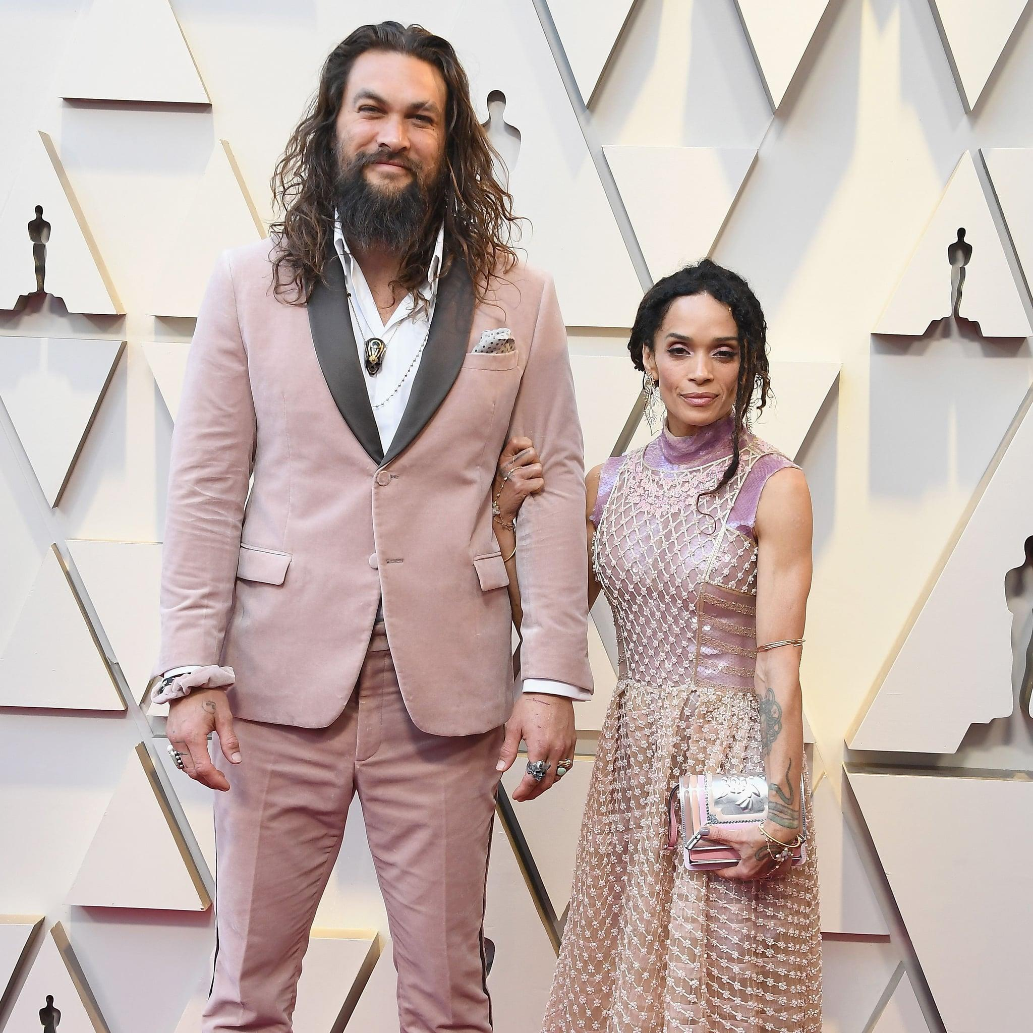 Jason Momoa And Lisa Bonet Matching At The Oscars Is The