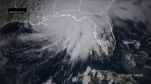 Furacão Sally toca o solo na costa sul dos EUA
