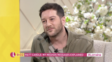 'X Factor' winner Matt Cardle opens up about his private messages with Meghan Markle