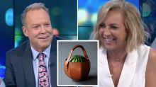 The Project's Carrie Bickmore loses it over bizarre Goop gifts