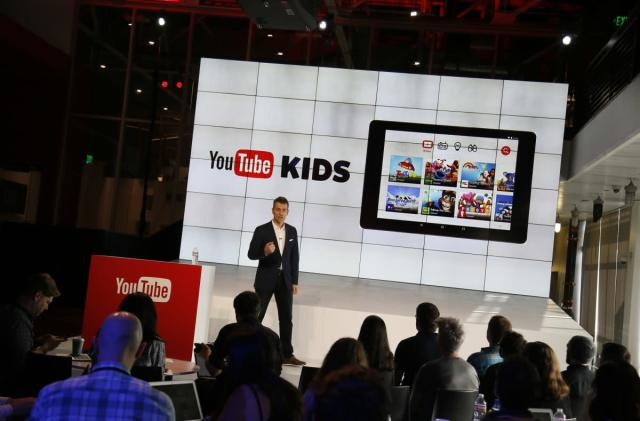 YouTube Kids entertains children outside of the US