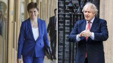 Far more Brits think Sturgeon has handled coronavirus better than Johnson, poll reveals