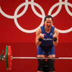 Weightlifter Hidilyn Diaz, who 'came from nothing,' wins first-ever Olympic gold medal for the Philippines