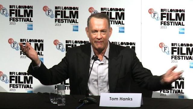 Hanks questioned about his diabetes at London film fest