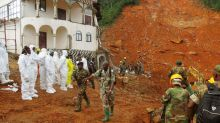 Sierra Leone mudslide leaves more than 300 dead and at least 700 missing