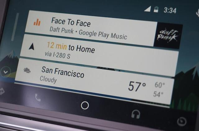'OK Google' is finally coming to Android Auto