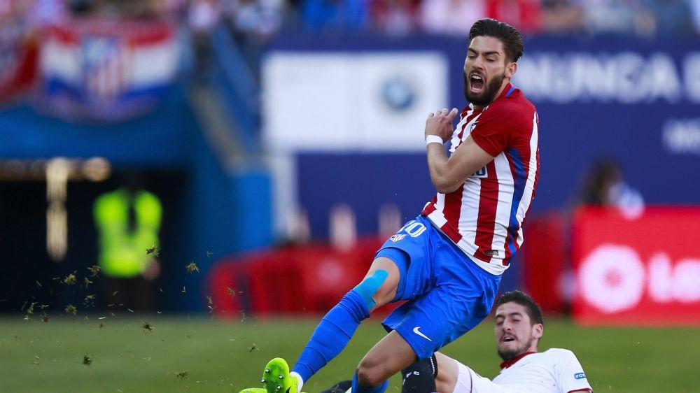 Carrasco abandona lesionado el Atlético - Villarreal