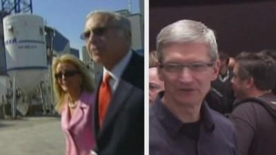 Showdown over Apple's pile of cash