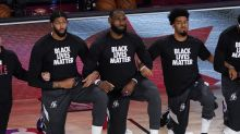 LeBron James on President Trump turning off NBA games over protests: 'We could care less'