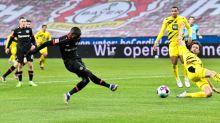 Diaby shines to down Dortmund and send Leverkusen second