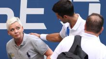 Novak Djokovic defaulted from U.S. Open after hitting linesperson with ball by accident
