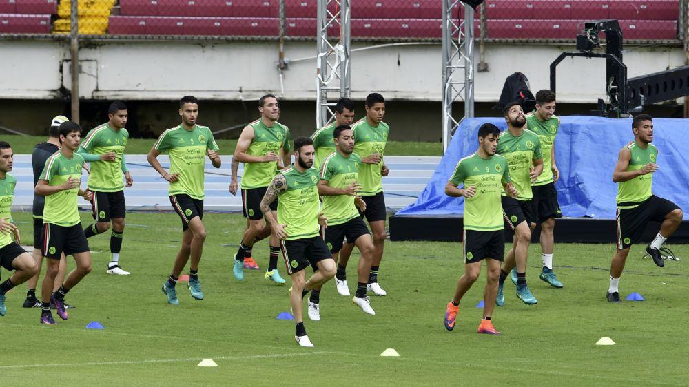 La Selección mexicana para Copa Oro inició concentración