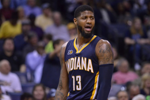 Paul George is on his way out of Indiana, and he doesn't seem to be leaving on good terms. (AP)