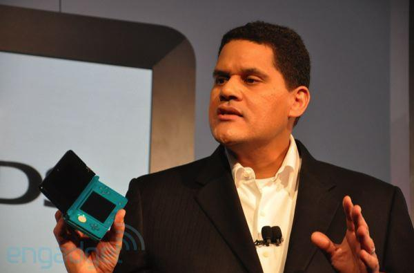 Nintendo's Reggie Fils-Aime on the Xbox One and PS4's launch lineups: 'meh'