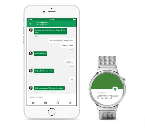 Google's Android Wear Watches are Coming to the iPhone