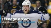 Patrik Laine extends point streak to 14 games, sets record for NHL teenager