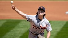 Detroit Tigers blanked again by Oakland A's, 7-0, and Casey Mize gets bombed