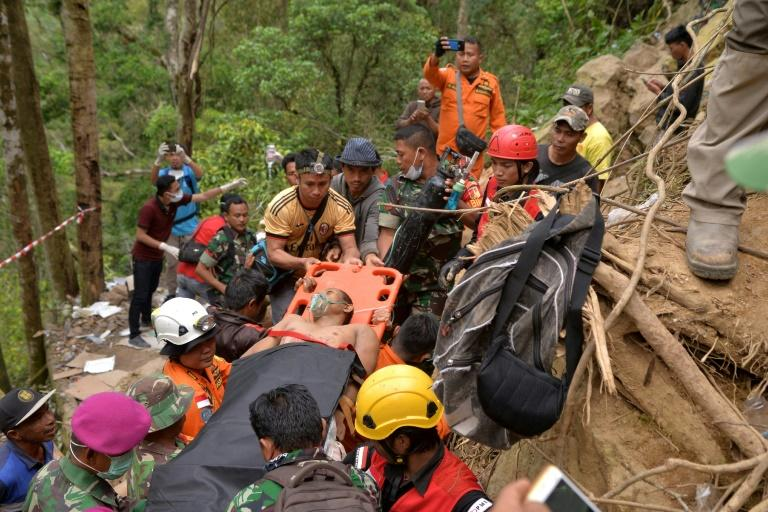Accidents frequently happen at abandoned mines in Indonesia when locals enter looking for rich pickings. At least 16 people died in this accident in north Sulawesi in early 2019