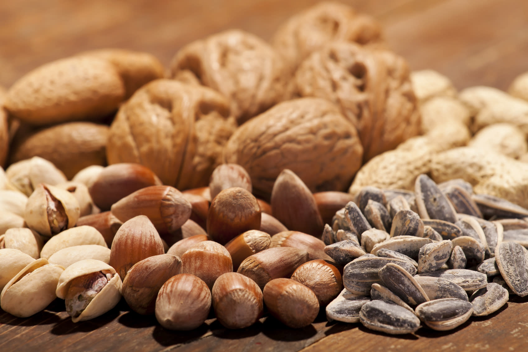 Eating nuts twice a week lower risks of death from heart disease