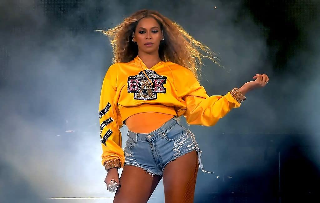 f9d9bb5b4231ec Beyoncé during a performance at Coachella. (Photo: Kevin Winter/AFP)