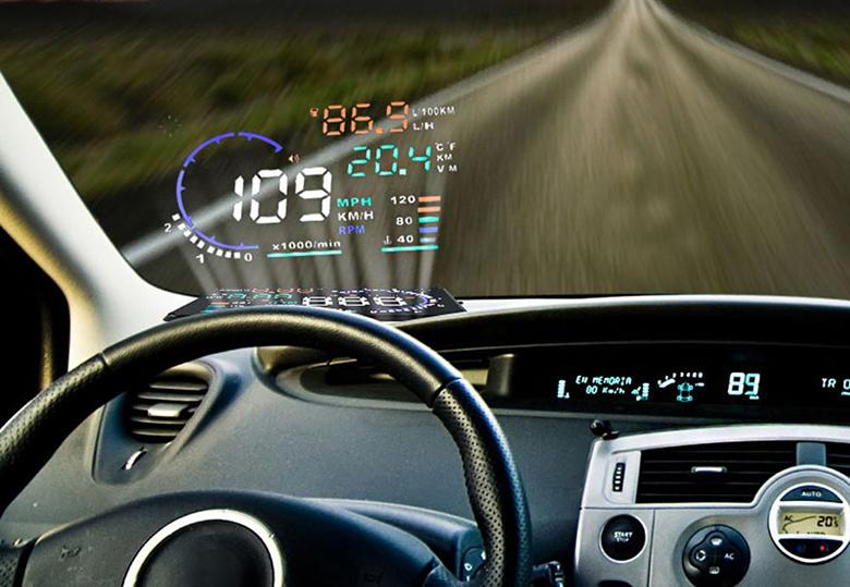 Add A Headup Display To Any Car With This Device - Car display
