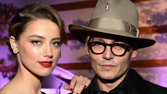 Johnny Depp Confirm's Engagement With Amber Heard