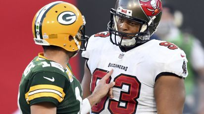 Rodgers wanted to see Suh after chippy game