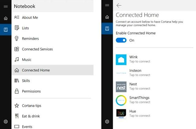 Cortana can command your smart home devices on Windows 10