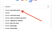 Type 'Should I' into Google and you'll see why Tesla's stock was surging