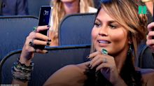 Chrissy Teigen live tweets as plane turns back to LAX