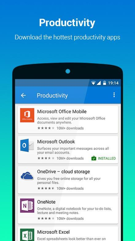 Microsoft launches app store on Android platform