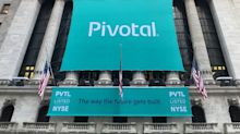 Pivotal Software closed up 5% following IPO, raised $555 million