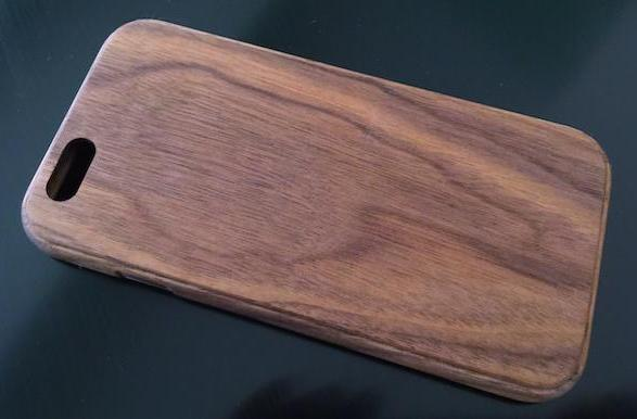 Grovemade's beautiful handcrafted Walnut iPhone Case