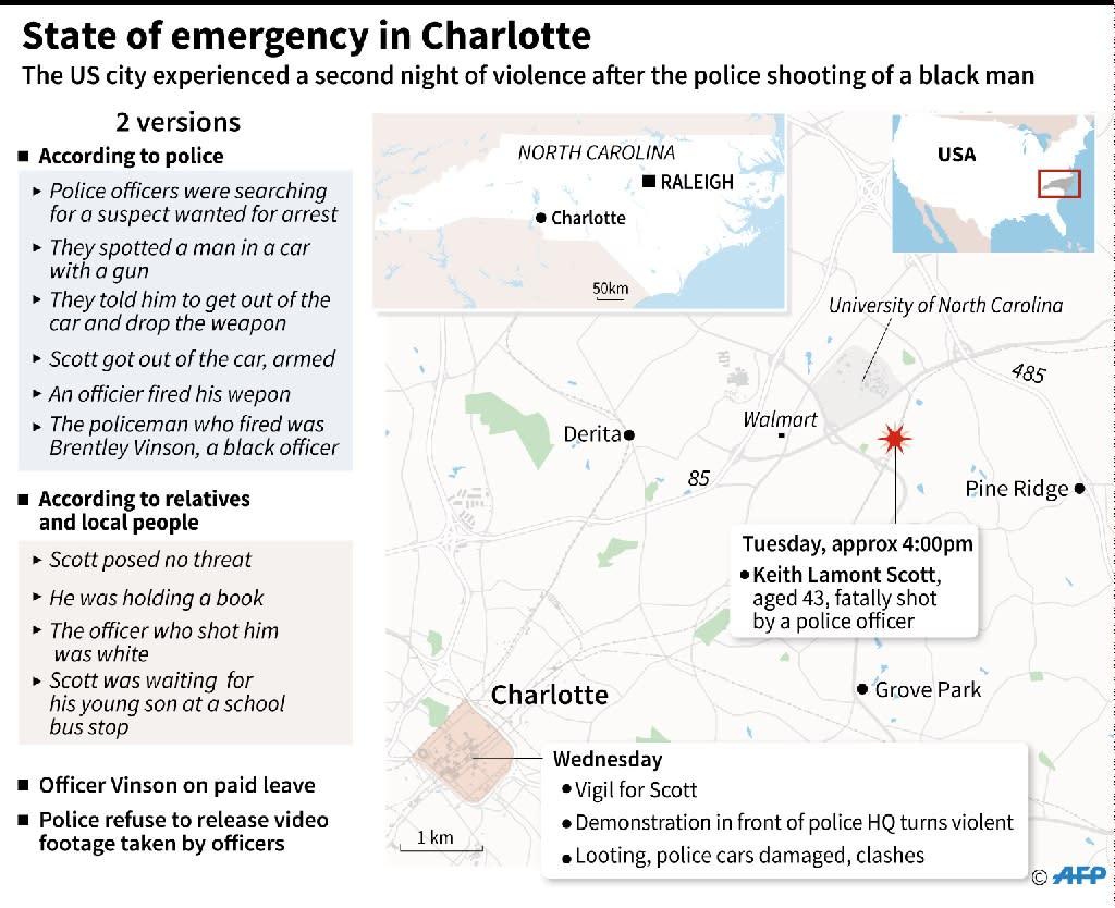 Racial tension mounts in the US (AFP Photo/Jean Michel Cornu, Vincent Lefai)