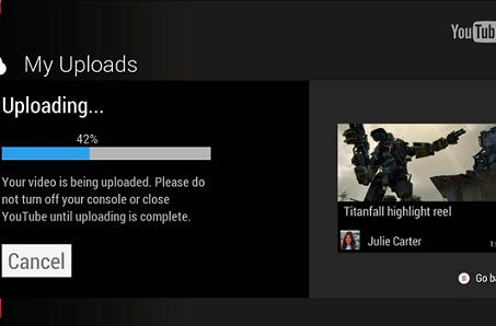 Upload gameplay to YouTube on Xbox One tomorrow, 360 gets GoPro app