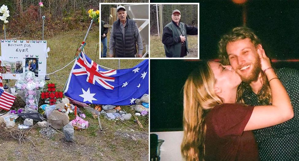 Truck drivers' selfless act to keep memory of murdered young couple alive