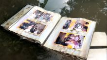 Family reunited with photo album found in Houston floodwaters after Harvey
