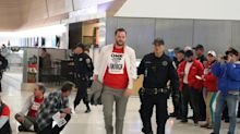 Three S.F. supervisors arrested at SFO protest for airline workers