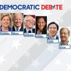 10 Democratic candidates set to face off in 5th debate